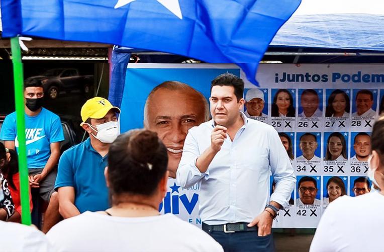 Juan Diego Zelaya: «Tengo un plan para descongestionar el tráfico en la capital»