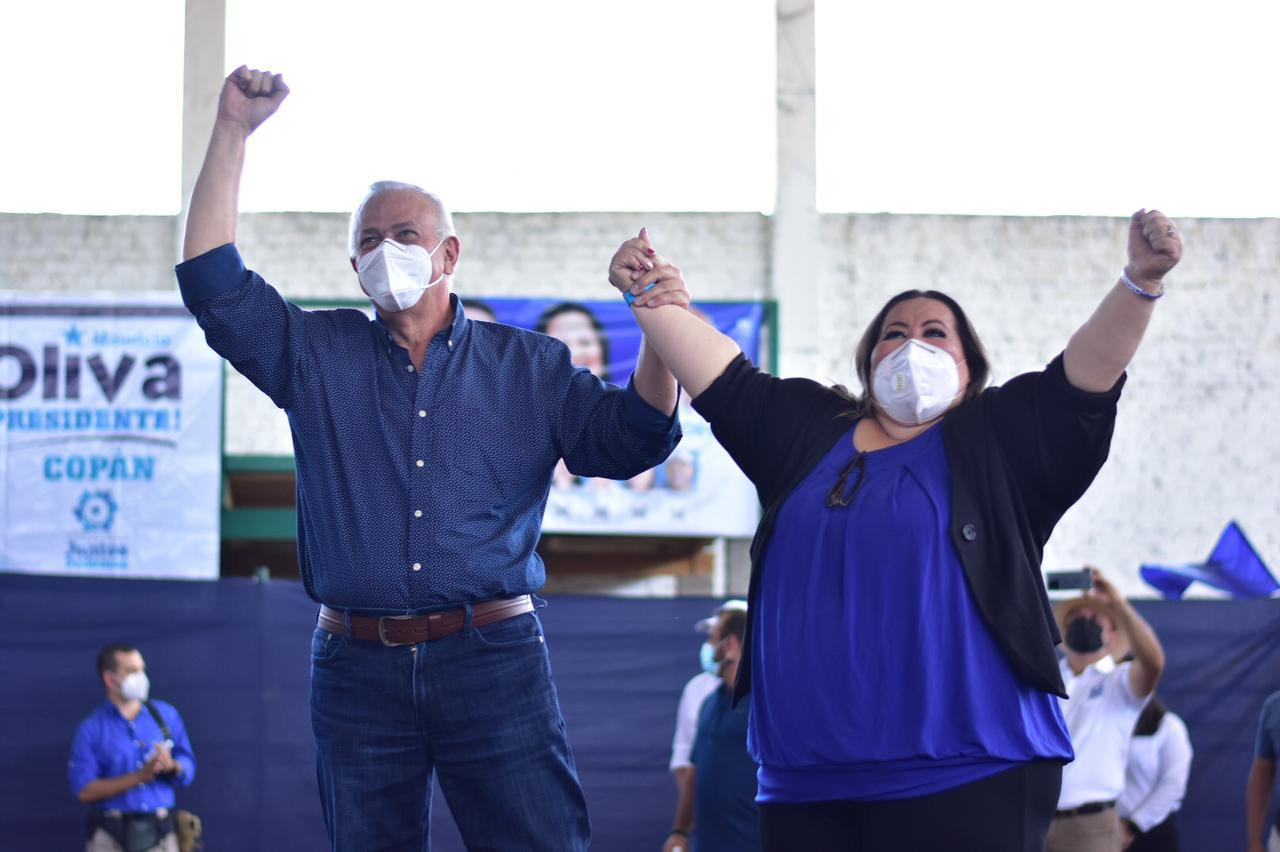 Mauricio Oliva: «Vayamos a las urnas a votar con alegría y que quede expresada la voluntad del pueblo»
