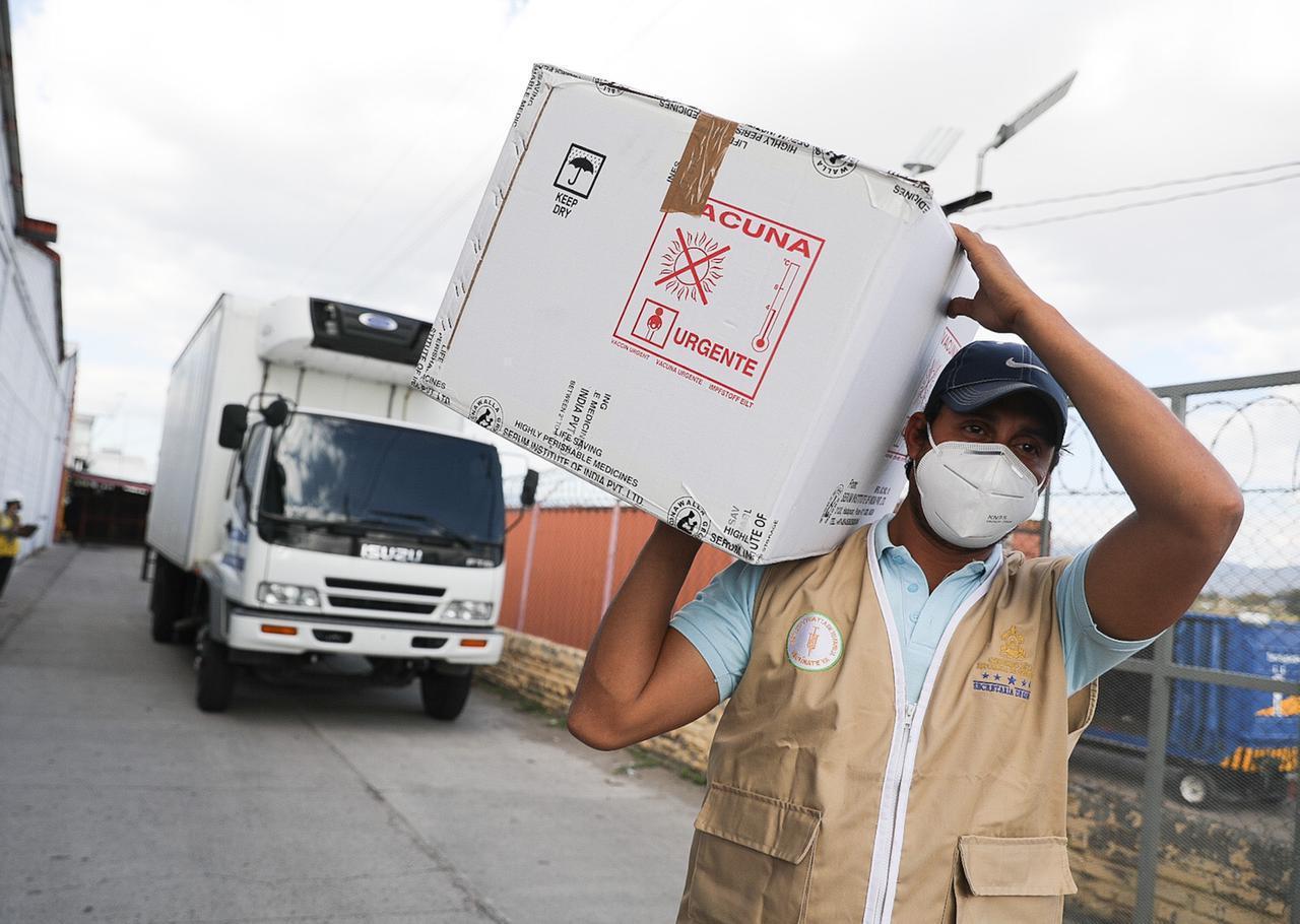 Aduanas Honduras garantizará el despacho oportuno y ágil del primer lote de vacunas contra la Covid-19