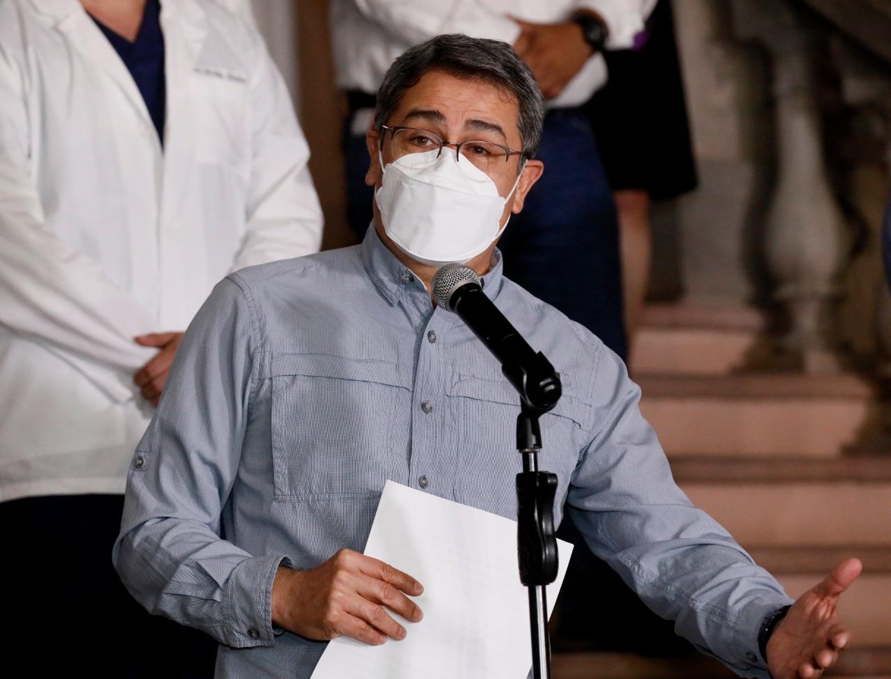 Presidente Hernández: Abordaje de la pandemia en Honduras es reconocido mundialmente