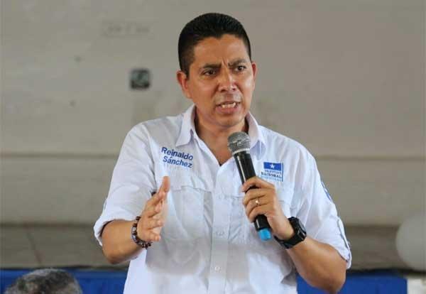 Reinaldo Sánchez : «No podemos esconder las acciones del presidente Hernández para recuperar la paz y la tranquilidad en Honduras»