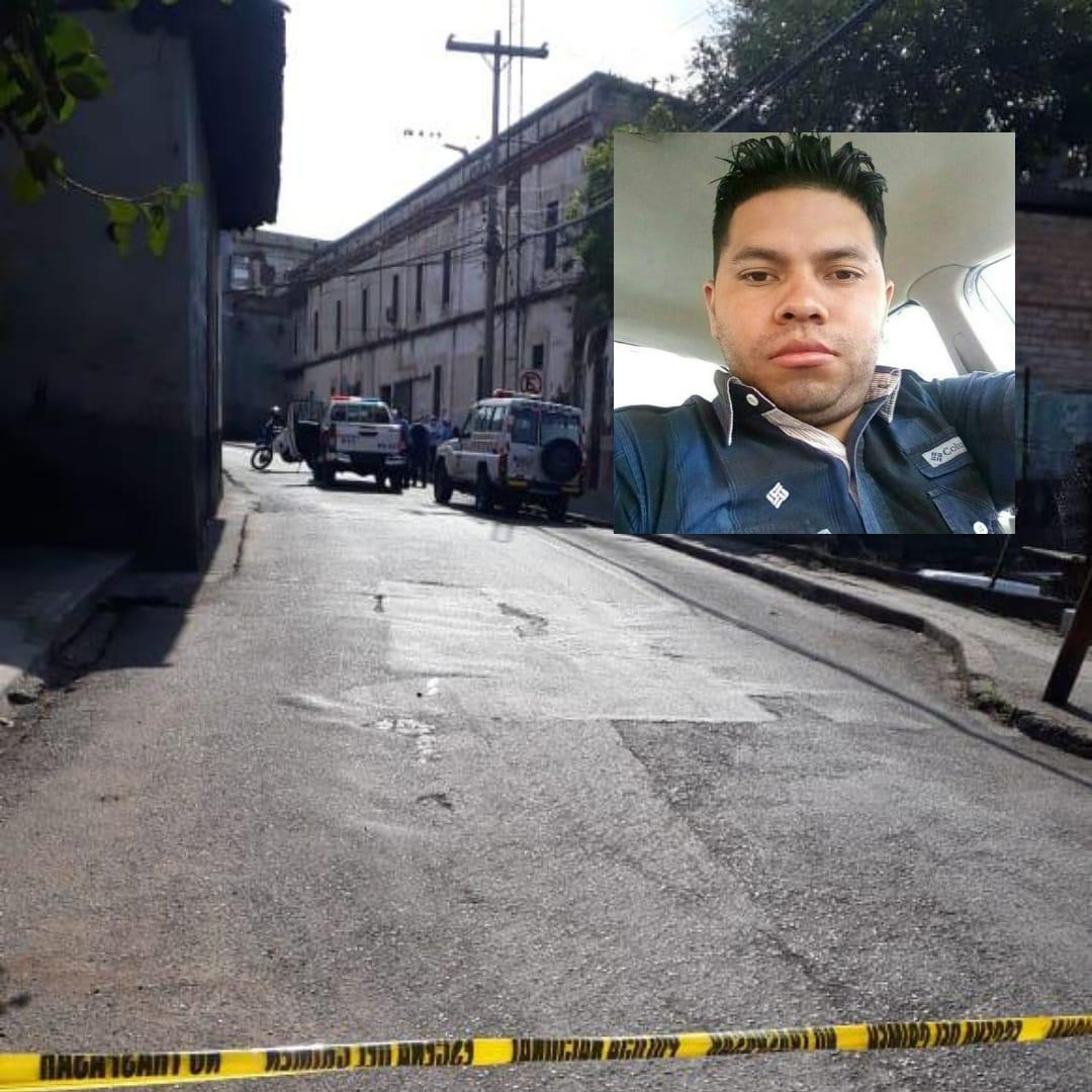 Asesinan a taxista en barrio  La Hoya de Tegucigalpa