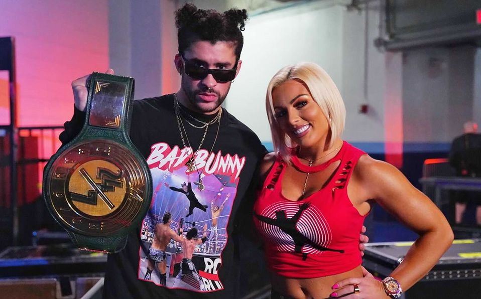 Bad Bunny es nuevo campeón 24/7 de la WWE