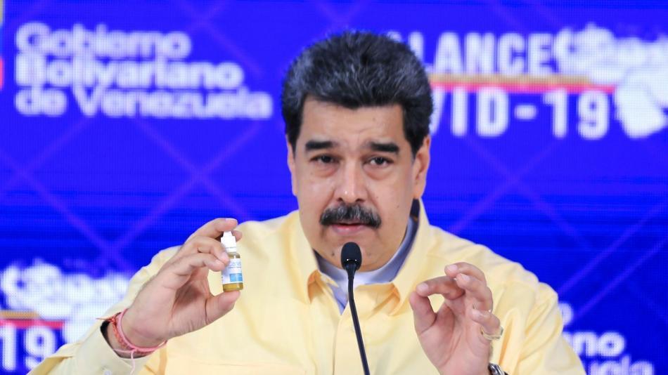 Maduro pregona una cura milagrosa, Venezuela no puede o no quiere vacunarse