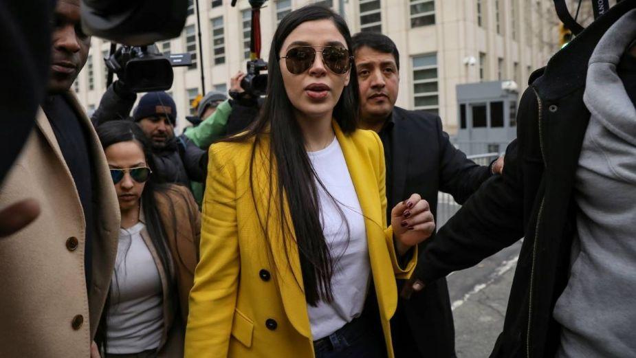 Inicia juicio de Emma Coronel: Se queda en prisión preventiva temporal sin derecho a fianza