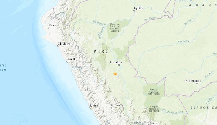 Sismo de magnitud 5,0 sacude centro de Perú