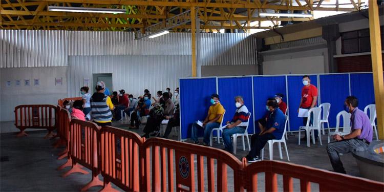 Julio Quiñones:  A partir del próximo miércoles el triaje del INFOP comenzará a operar en el gimnasio del instituto Jesús Milla Selva