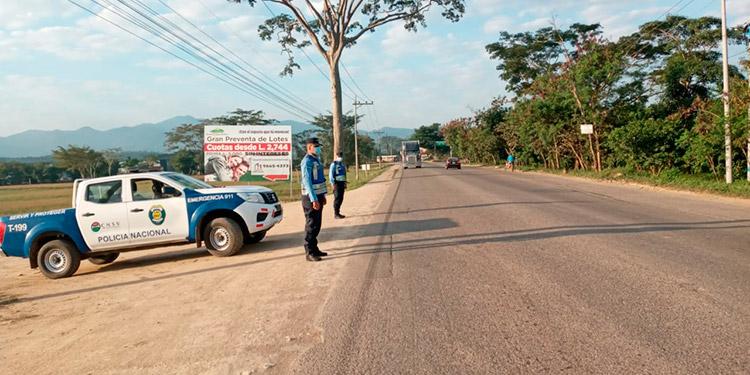 Director DNVT:  Más de 25 mil  funcionarios policiales se han desplazado  a  300 puntos de control y prevención  a nivel  nacional