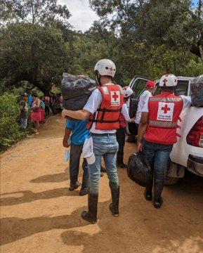Cruz Roja de Honduras con más de tres mil colaboradores en apresto durante Semana Santa