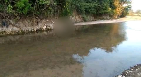 Encostalado dejan el cadáver de una persona en río de San Antonio, Copán