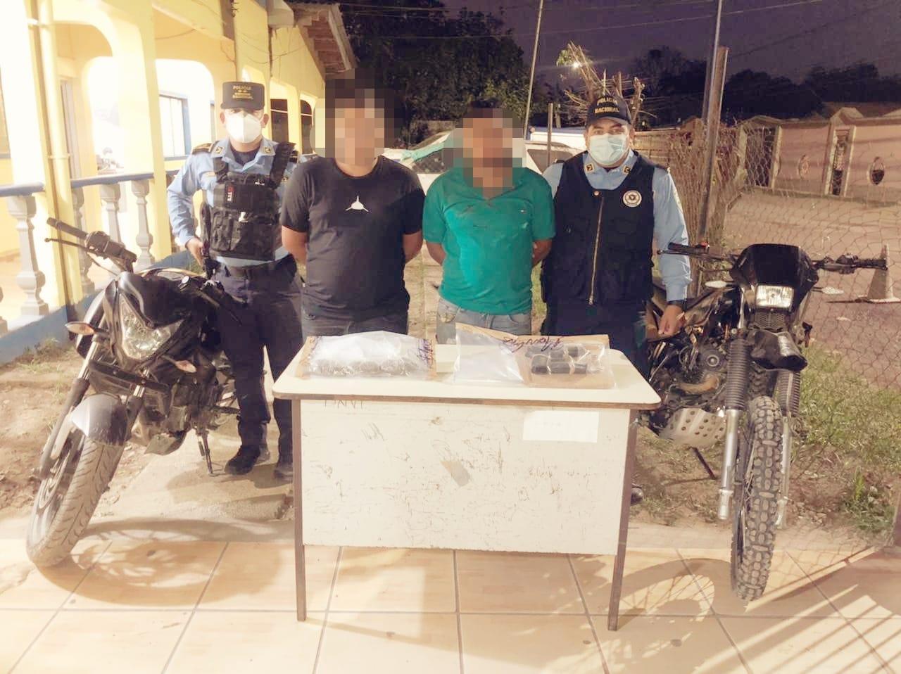 Tras enfrentamiento entre criminales y policías dos sujetos resultaron detenidos en la zona norte