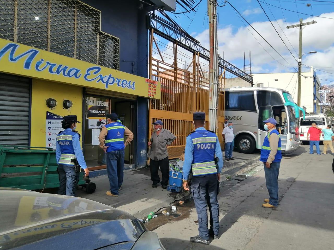 127 unidades de transportes han sido sancionadas en inicio de Semana Santa