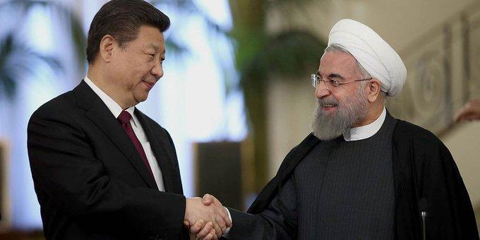 China e Irán firmaron un pacto de cooperación secreto por 25 años