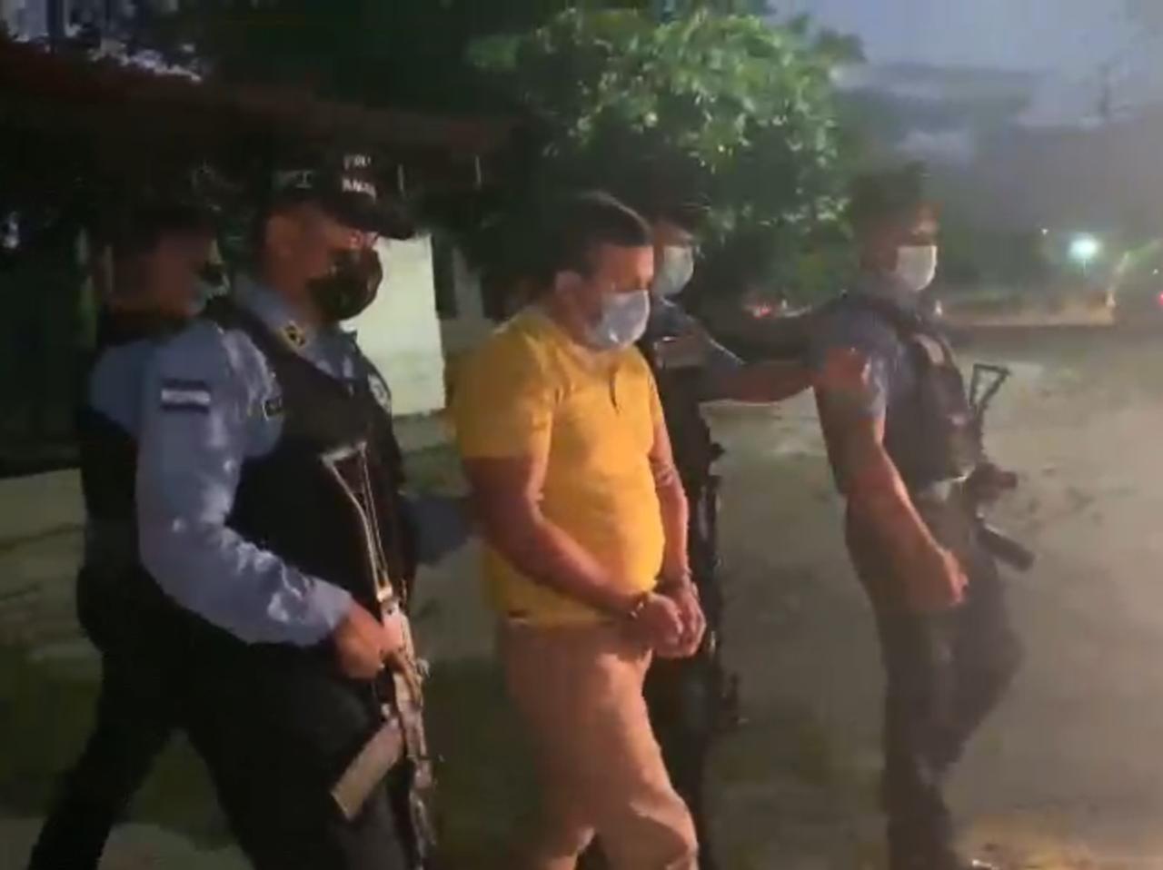 DPI captura a supuesto líder de banda criminal en Villa Nueva, Cortés