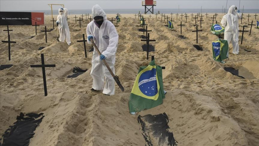 Brasil rompe récord con más de 100 mil contagios en un día
