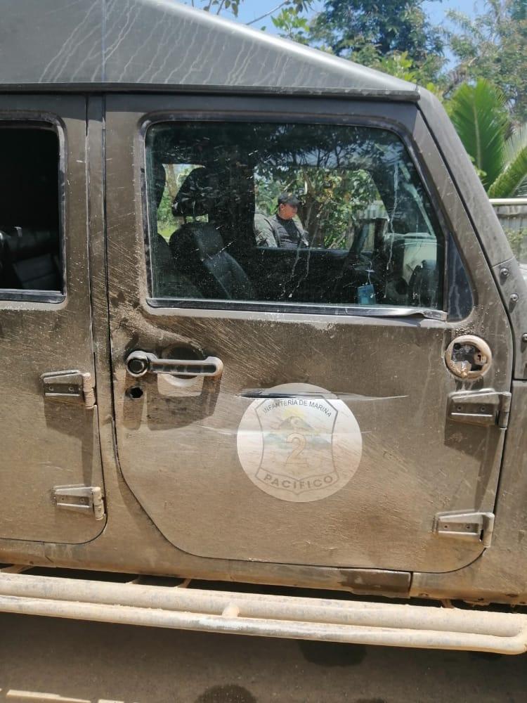"""Supuestos delincuentes disparan """"fuego cruzado"""" a Patrulla militar en Iriona, Colón; No se reporta victimas mortales"""