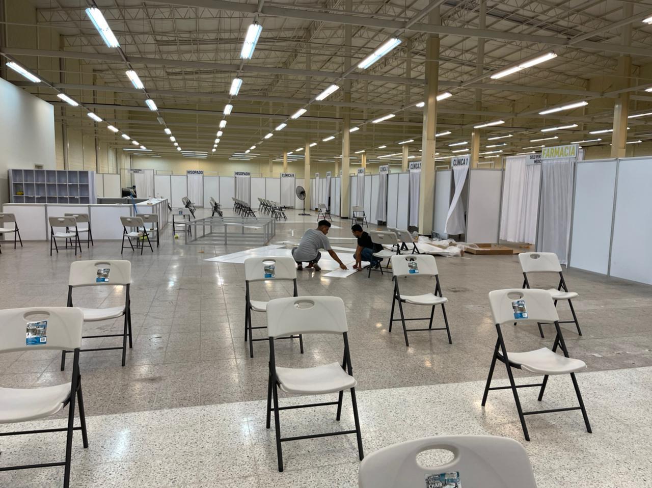La próxima Semana  habilitaran en San Pedro Sula  el triaje  mas grande de Honduras