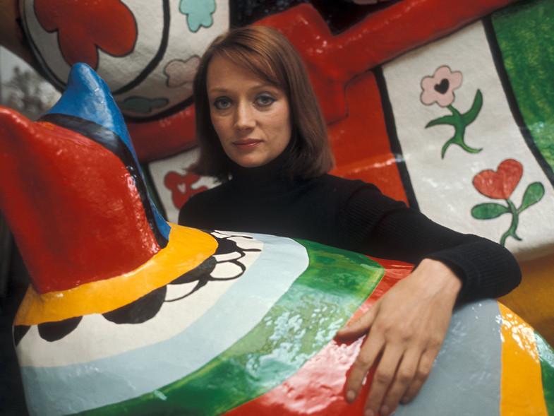 Niki de Saint Phalle, la mujer que pintaba con una escopeta