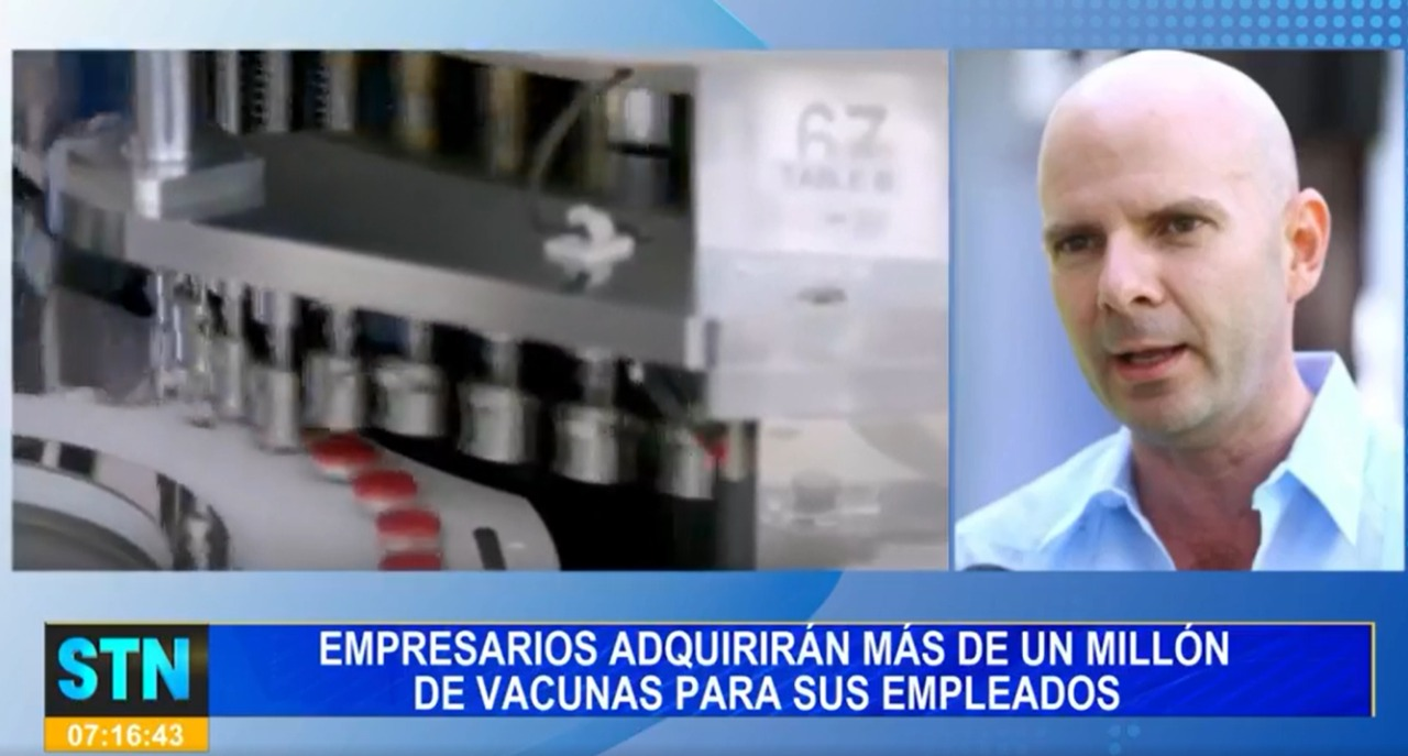 Sector privado une esfuerzos para adquirir  un millón de  vacunas  para inmunizar a sus empleados