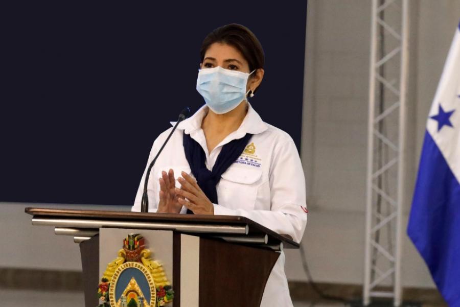 Ministra de Salud:  Honduras recibirá 645,600 vacunas contra el COVID-19 entre mayo y junio
