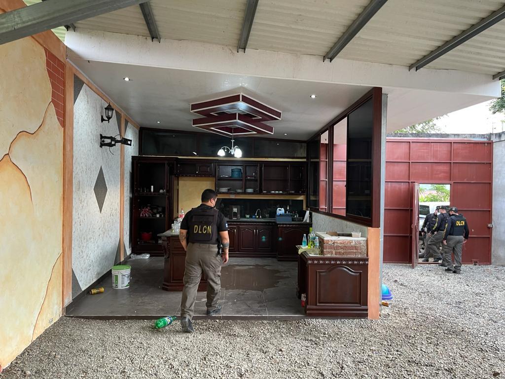Ejecutan 14 allanamientos en Copán y Cortés en contra de estructura criminal dirigida por extraditable Martín Adolfo Díaz Contreras