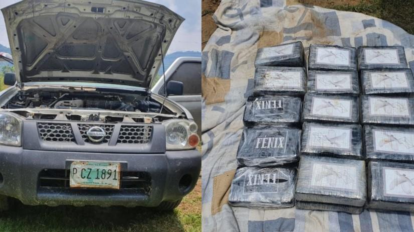 Copán: En tanque de combustible de un vehículo encuentran 29 kilogramos de clorhidrato de cocaína