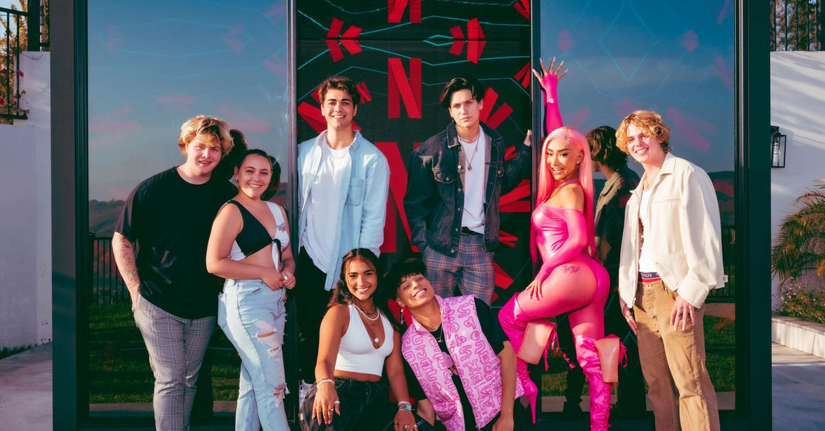 Hype House, el reality de Tik Tok hecho por Netflix