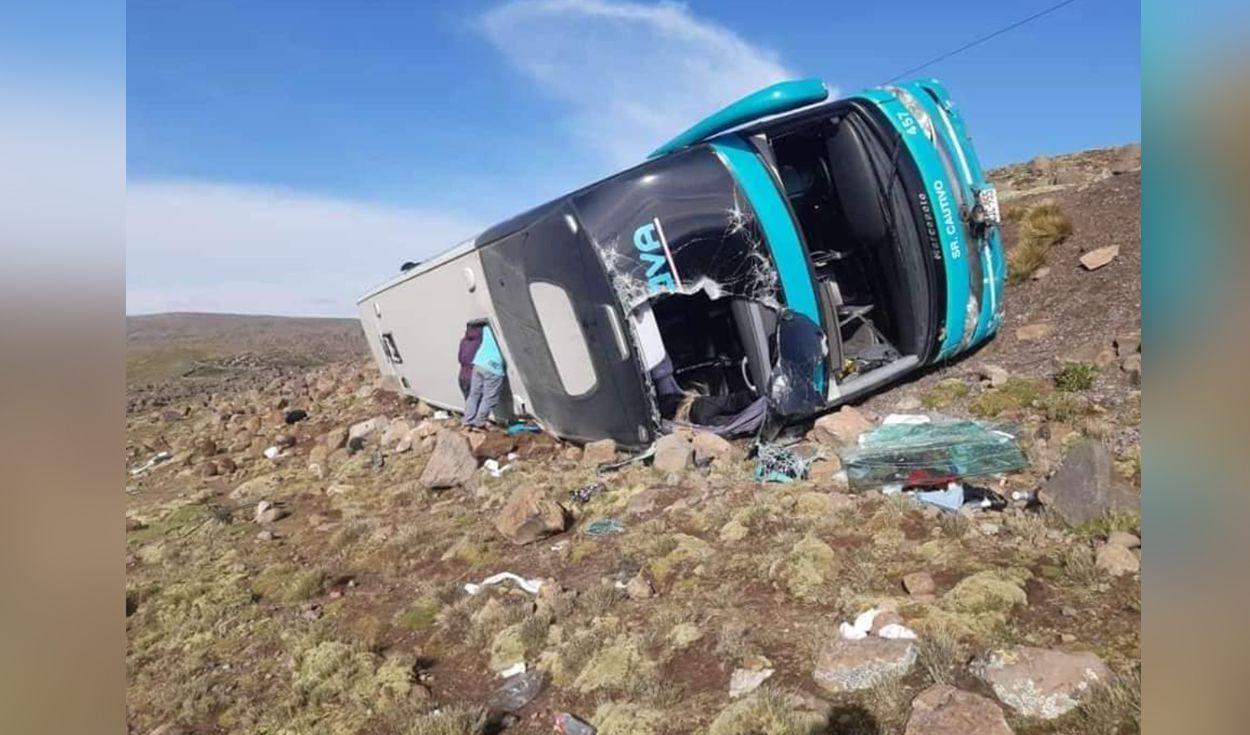 Al menos 9 personas muertas deja el despiste de un autobús al sur de Perú