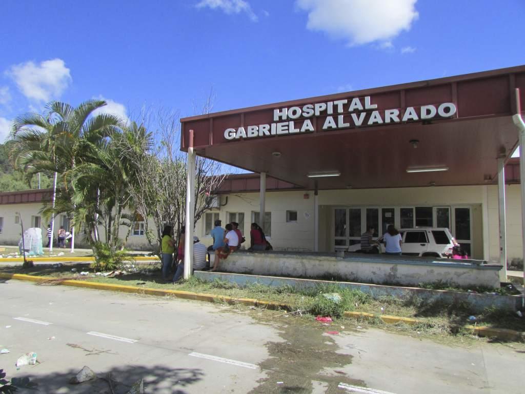 En su máxima capacidad se encuentra el Hospital Gabriela Alvarado de Danlí