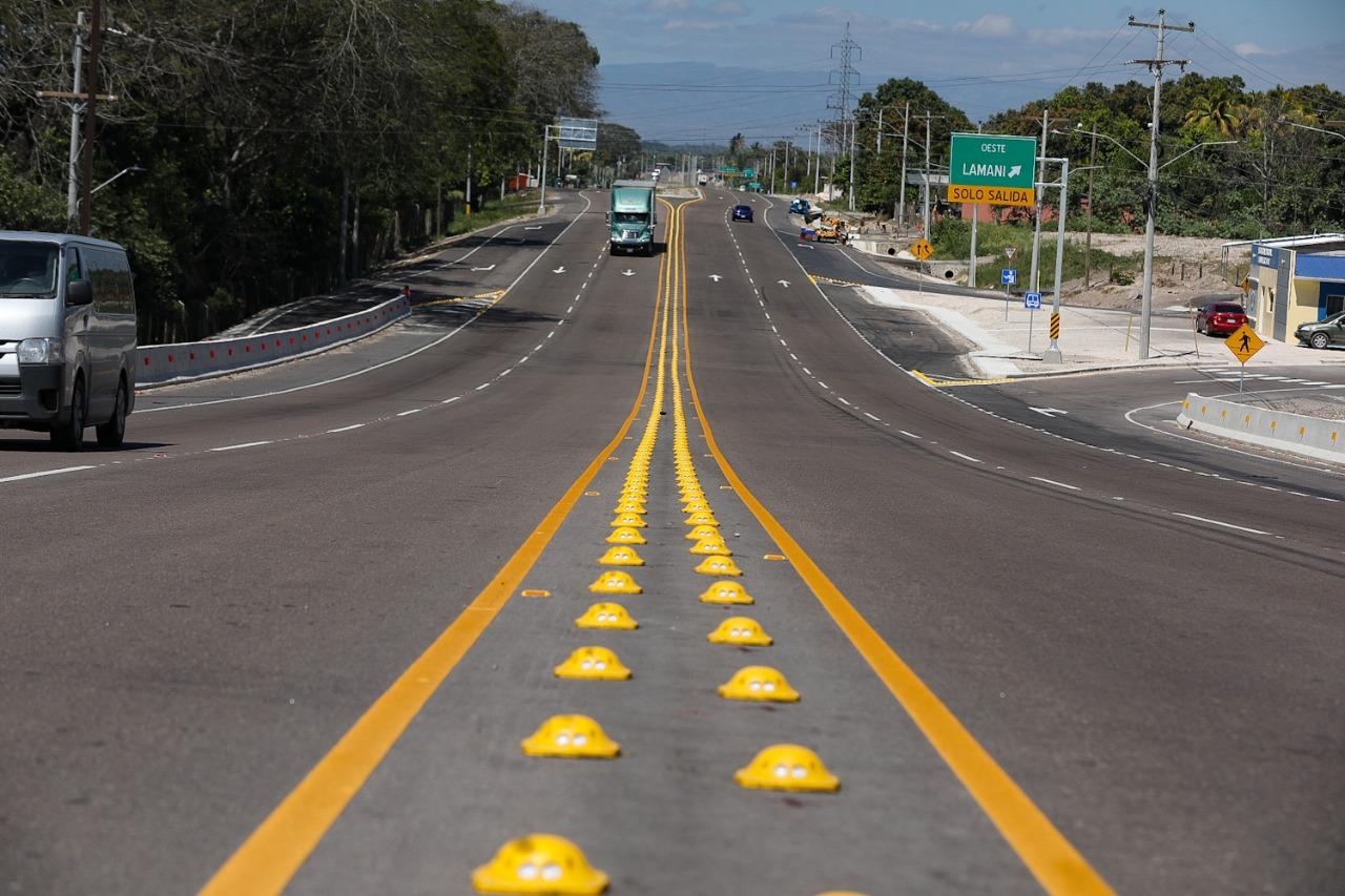 «Este Gobierno será recordado porque le dejamos al país las mejores carreteras de la región»: Presidente Hernández