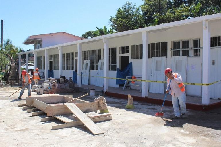 Gobierno continúa reparación de 5,600 centros escolares a nivel nacional