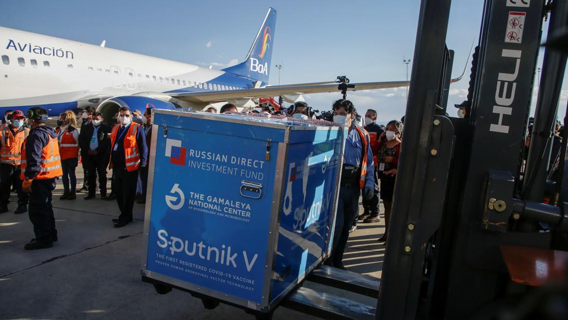 Este día llegan al país 6 mil dosis de vacunas Sputnik-V