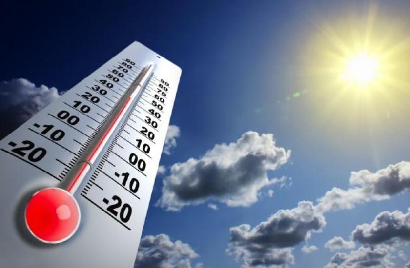 Se esperan temperaturas cálidas entre 33 y 38 grados