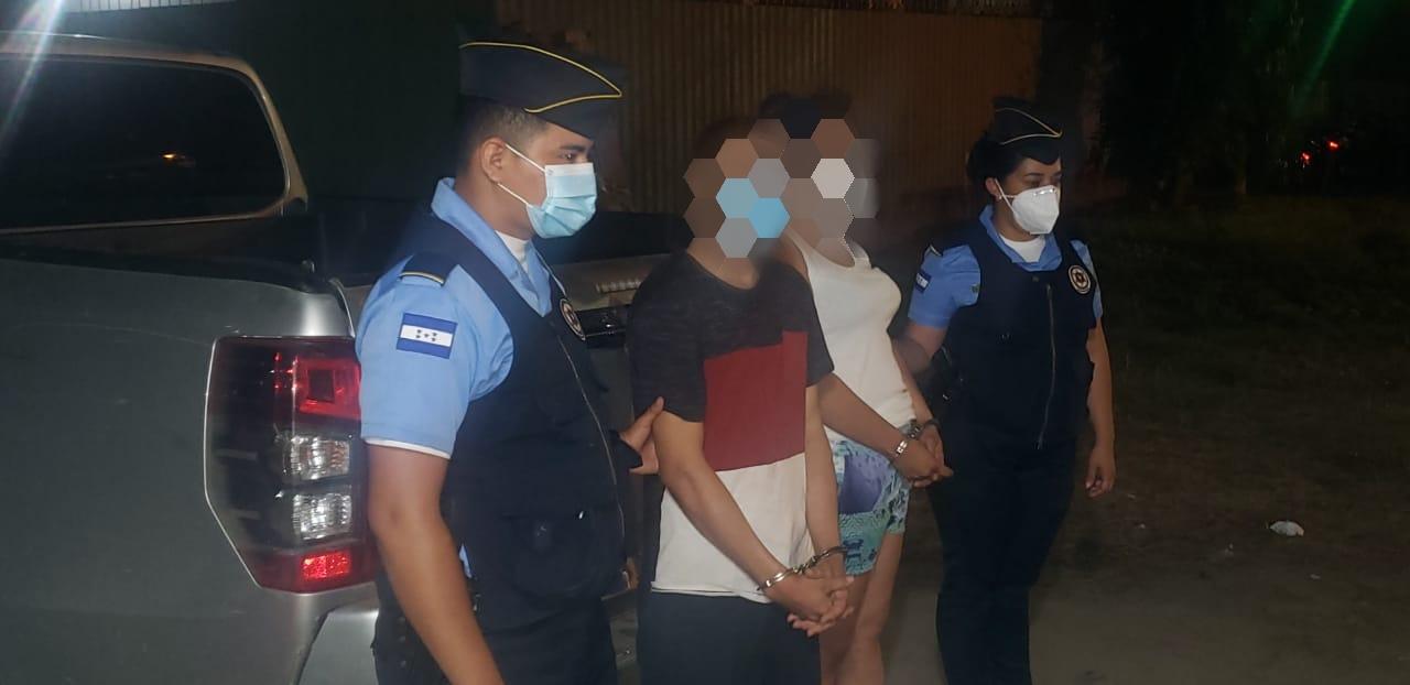 Por el asesinato de una persona detienen en Yoro a dos supuestos integrantes de la pandilla 18