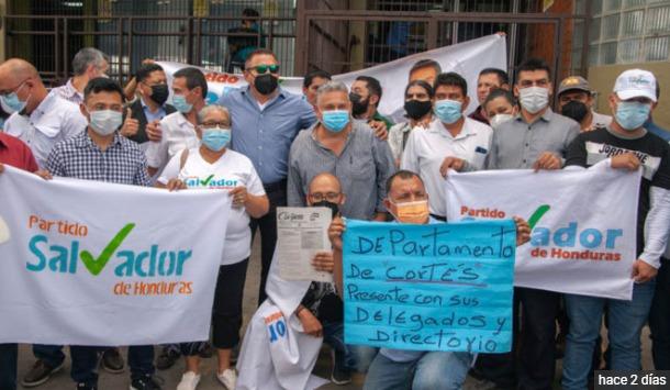 Nasralla: Pierde el control del Partido Salvador de Honduras