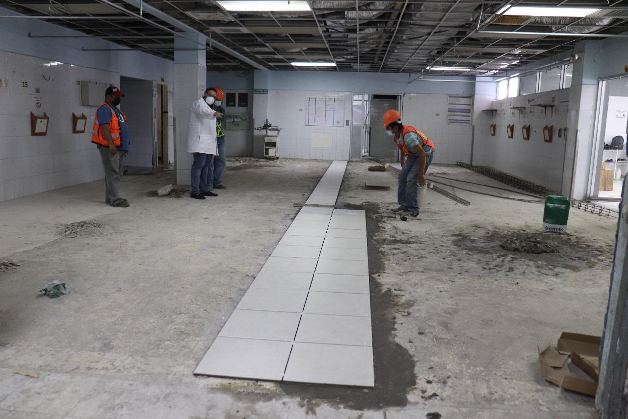 Invertiran L. 20 millones en remodelación de salas emergencias en hospital Mario Catarino Rivas
