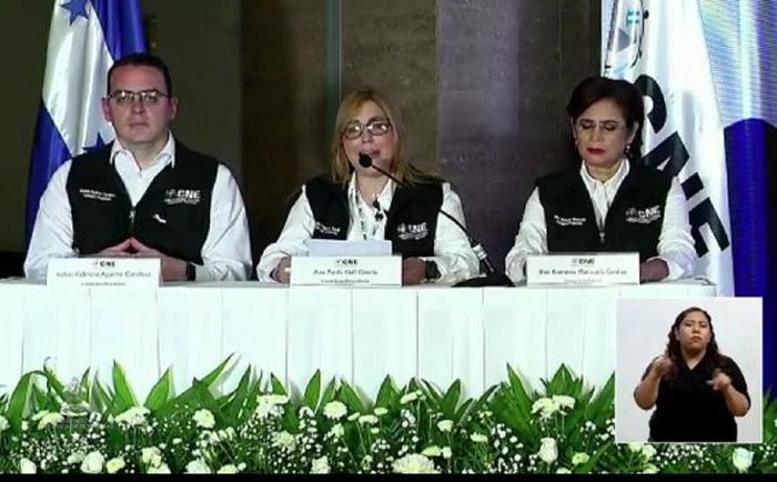 CNE oficializa resultados: Xiomara, Yani y papi ganan elecciones primarias