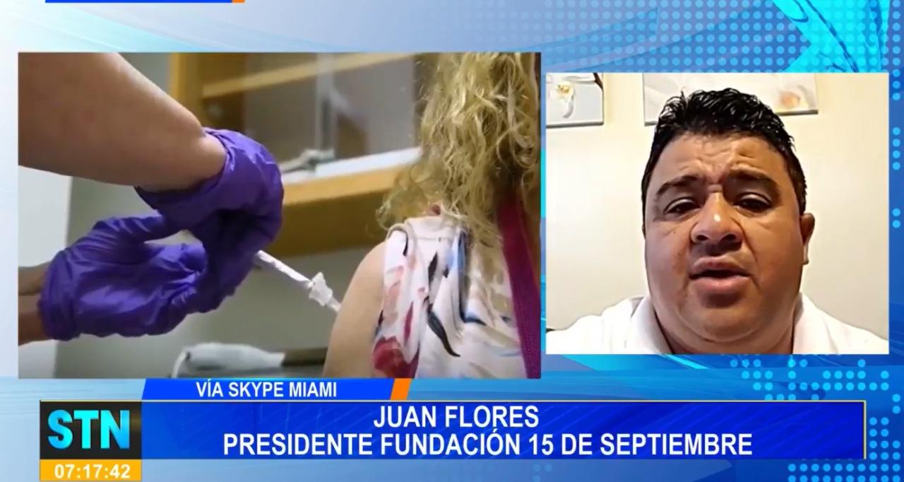 Fundación 15 de septiembre realiza gestión para que Honduras obtenga un millón de vacunas mediante el gobierno de EEUU