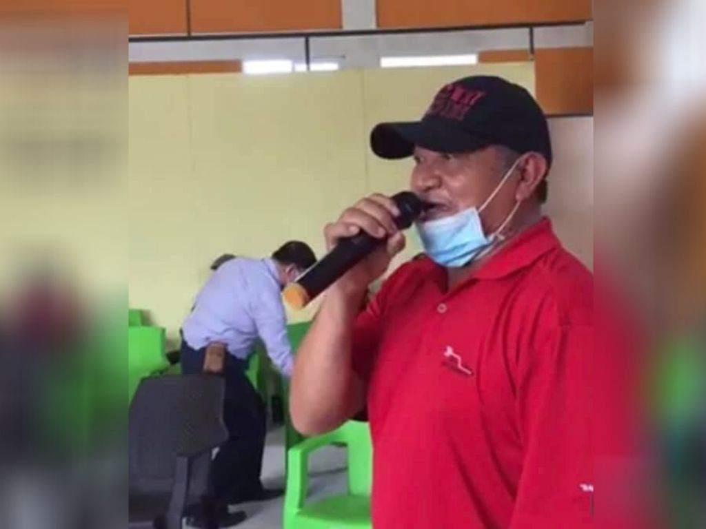 Presenta requerimiento fiscal por el crimen del líder indígena Félix Vásquez