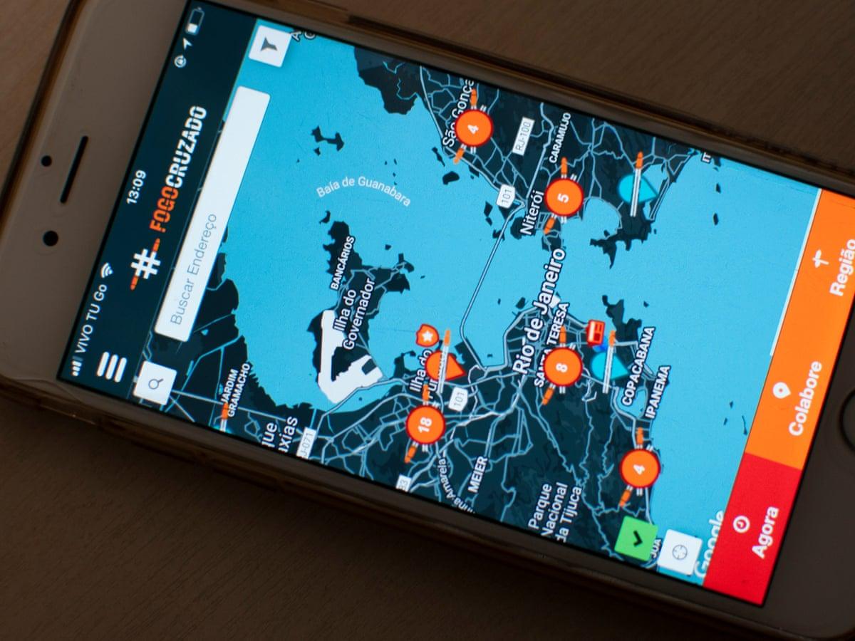 Sabías de «Fogo Cruzado» la aplicación que ayuda a proteger a brasileños del crimen a pistola