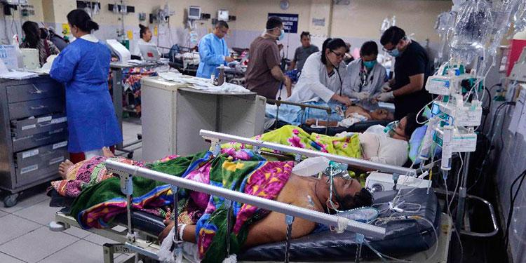 Colapsado en un 130% se encuentra el sistema hospitalario en Olancho informa regional de salud