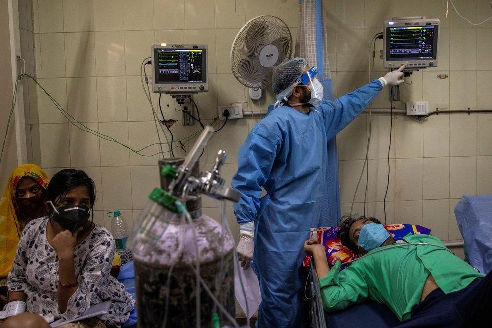 India supera los 200 mil contagios de Covid-19 en un solo dia