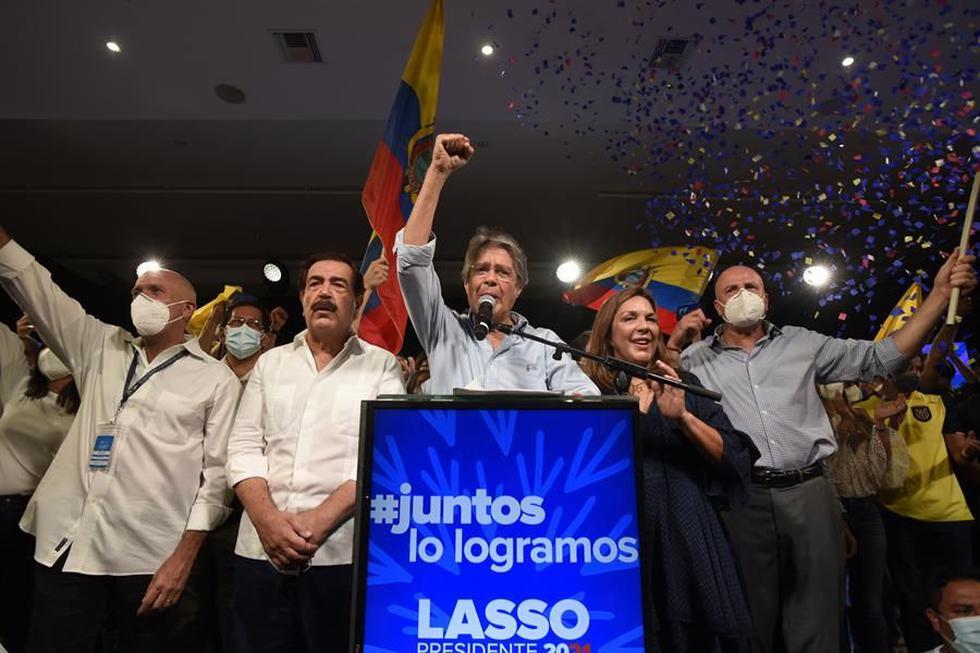 Guillermo Lasso gana las elecciones presidenciales en Ecuador