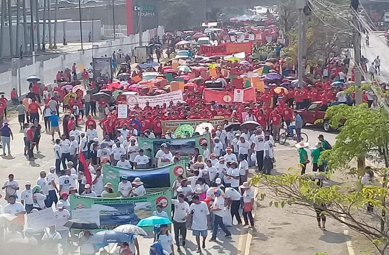 Sindicato de Trabajadores del Hospital Escuela no saldrá a manifestarse mañana 1 de mayo