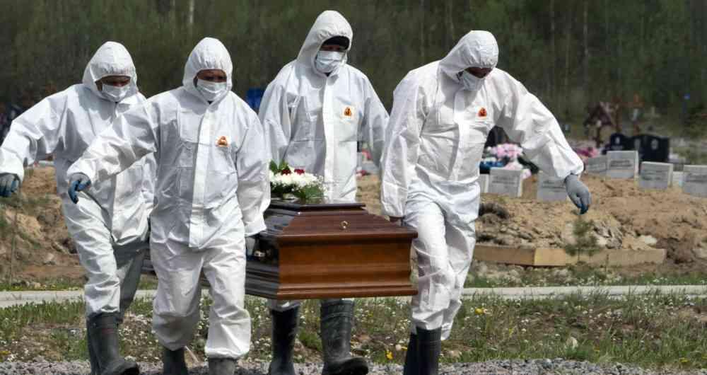 Unas mil muertes al mes por Covid19 reportan funerarias