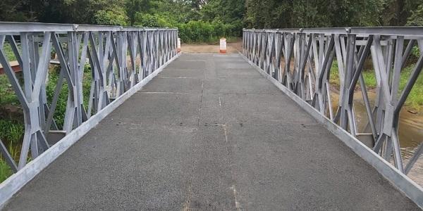 En tres meses llegan firmado contrato para 600 metros de puentes Bailey