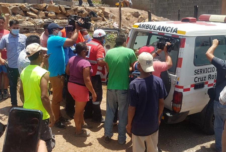 Muere segundo obrero de los tres obreros soterrados en Sabanagrande