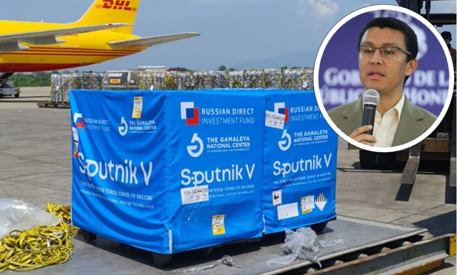 Ebal Díaz: «Entre domingo y lunes próximo llega el segundo lote de vacunas Sputnik V»