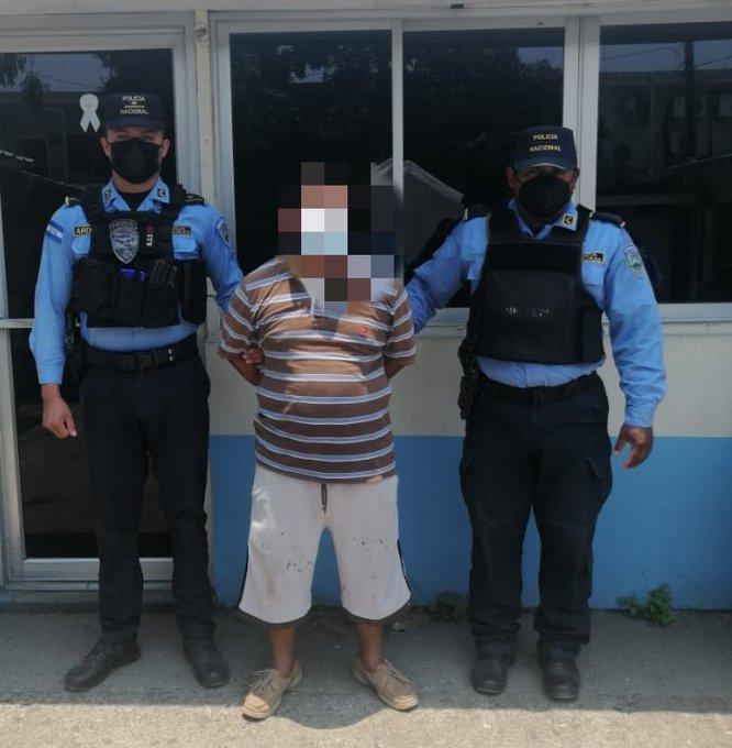 Capturan a sujeto acusado de  violar a su hijastra de 12 años en Cortés