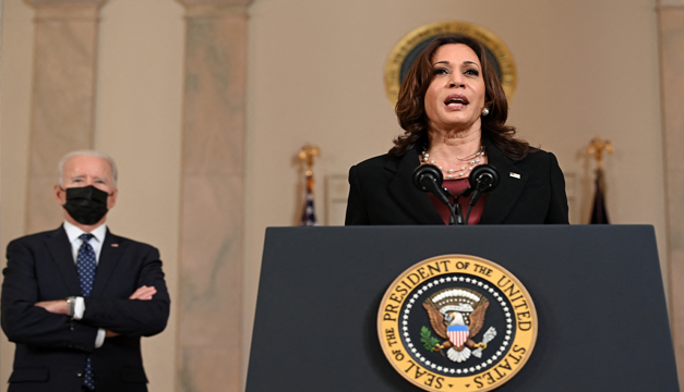 Kamala Harris: «Tenemos profundas preocupaciones sobre la democracia de El Salvador»